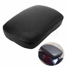 Motorcycle Passenger Leather Seat 6 Cups Black for Harley-Davidson Electra Glide
