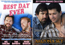 Jeff London 2 Movie Set (DVD) Best Day Ever, Arizona Sky, Gay, LGBT, Romance