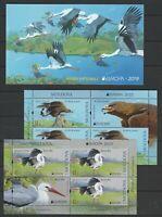 Moldova 2019 Europa CEPT Birds MNH Booklet