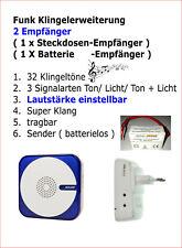 500 Meter Funk-Klingel-Signal Verstärker 443MHZ Signalkonverter 5 Zonen