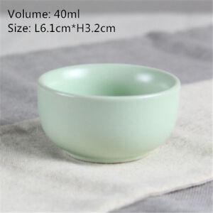 ruyao tea cup crackle glaze cup of tea Chinese porcelain tea cup green Pu'er cup