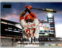 2019 Topps Stadium Club ODUBEL HERRERA Black Foil Parallel #184 Phillies