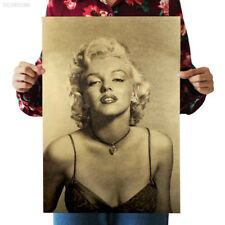 9BD3 Hot Marilyn Monroe Vintage Kraft Paper Poster Art Print Fashion B Style
