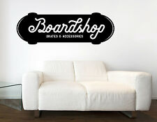 Wall Vinyl Decal Signboard Store Sports Accessories Decor BoardShop Skate z4789