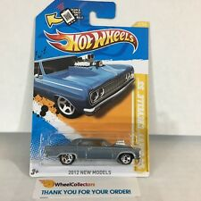 '64 Chevy Chevelle SS #2 * Silver * 2012 Hot Wheels * NE10