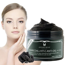 Charcoal Black Jelly Facial Mask Better Korean Blackhead Whitening Controls Oil
