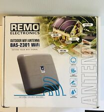 Remo Electronics Outdoor Directional Wifi Antenna BAS-2301 Wifi With Cable RPSMA