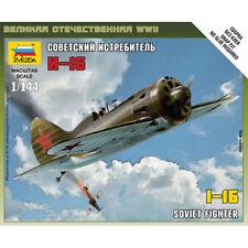 ZVEZDA 6254 Soviet WWII Fighter Polikarpov I-16 1:144 SnapFit Aircraft Model Kit