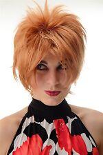 Perruque pour Femme Court Wilde Mèches Style des Années 80 Wave Punk Blonde
