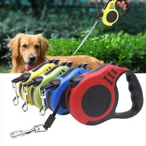 Retractable Dog Lead High Quality Upgraded Version Strong Flat Nylon Ribbon