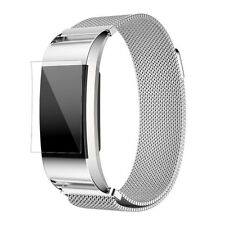 Fashion Crystal Stainless Steel Smart Watch Band Wrist Strap For Fitbit Charge 2