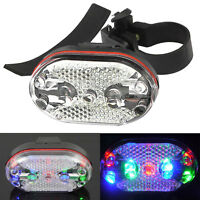 Useful Cycling Bike Bicycle 9 LED Taillight Safety Warning Lamp Rear Light Pop