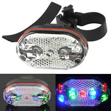 Useful Cycling Bike Bicycle 9 LED Taillight Safety Warning Lamp Rear Light New
