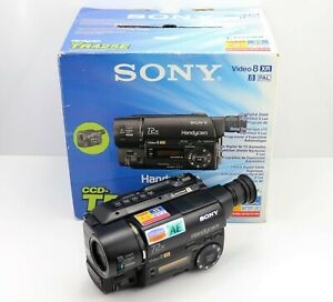 SONY HANDYCAM CCD-TR425E CAMCORDER BOXED VIDEO-8 XR VIDEO ANALOGUE HI8 8MM
