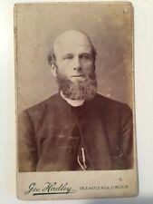 Victorian Carte De Visite CDV Photo - Hadley - Lincoln - Minister Or Clergy ??