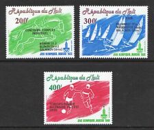 Mali 1980 Moscow Olympic Games Overprints - Mint hinged set - Cat £5 - (416)