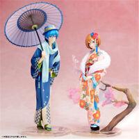 Vocaloid Hatsune Miku Kaito&Meiko Hanairokoromo Kimono Figure Model Toy Anime