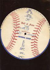 1961 Babe Dahlgren Coca Cola Ball of Fame EXMT