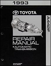 1993 Toyota Land Cruiser Automatic Transmission Repair Manual A442F Shop Rebuild