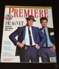 PREMIERE magazine #1 FIRST ISSUE, Dan Akroyd, Tom Hanks, Kevin Costner, RARE