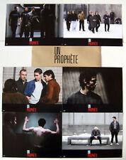UN PROPHETE/A PROPHET - Rahim,Arestrup - JEU DE 6 PHOTOS / 6 FRENCH LOBBY CARDS