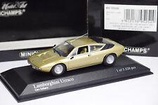 MINICHAMPS LAMBORGHINI URRACO 1974 GOLD 1/43