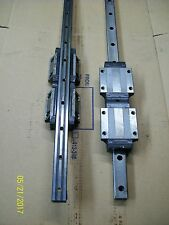 4 THK SHS35 H-NBR LINEAR BEARINGS AND  2 RAILS 1320mm 52""