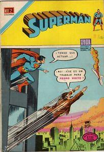 SUPERMAN  81 AÑO 1975 NOVARO EPUCOL COLOMBIA SPANISH COMICS