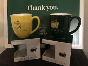 2021 Mugs Masters ANGC Patron Shop Yellow & Green NEW