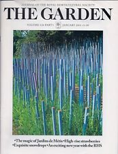 RHS THE GARDEN Magazine - January 2001
