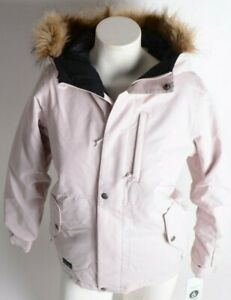 2021 NWT GIRLS VOLCOM SO MINTY INSULATED JACKET $170 M Faded Pink  2 layer