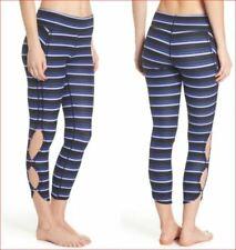 new FREE PEOPLE women legging sweatpants OB795352 black combo S MSRP $88