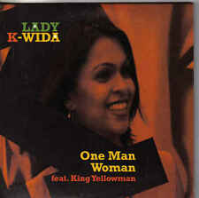 Lady K Wida-One Man Woman cd single