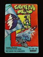 Grateful Dead Backstage Pass Denver Colorado 11/29/94 11/29/1994 Surf Windsurf