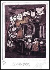 Lies van Vlijmen C3 Exlibris Bookplate Children Woman 1033