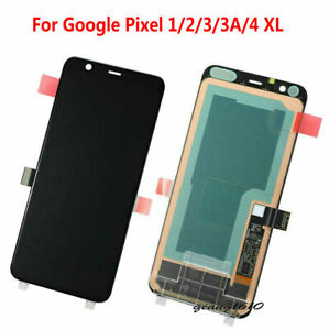 u OEM OLED Display LCD Touch Screen Assembly For Google Pixel 1/2/3/3A/4XL Black