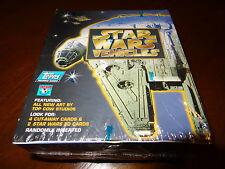 ✦ Topps Star Wars Vehicles 1997 Factory Sealed Box All New Art 36 packs  ✦