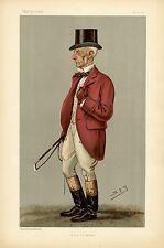 SPORTMAN OLD FOX HUNTER MASTER JUSTICE OF THE PEACE AND DEPUTY-LIEUTENANT FOX