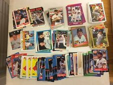 Wade Boggs One Hundred Two (102) Card LOT Mostly late 1980s Boston Red Sox HOF