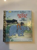 Walt Disney's The Jungle Book 1990 First Little Golden Book