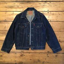 Levis Vintage Trucker Denim Jacket Small 70503 90s