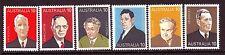 Australia Sc 610-15 Australian Prime Ministers 1975 Vf Mnh Set