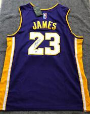 LEBRON JAMES SIGNED AUTOGRAPHED #23 NIKE NBA JERSEY WITH COA