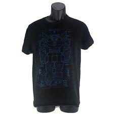 Voltron Japan Robot Transformer Tv Series Men's Black T-shirt Size Medium Tee
