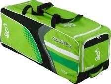 Pro 600 Cricket Wheelie Bag Green & White By Kookaburra