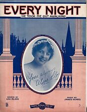 1914 Every night he took me out awalking - Lou Klein and James Kendis
