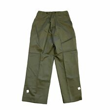 40s-50s VTG HBT 13 Star Military Trousers BNWT US Military OD Green 30x30