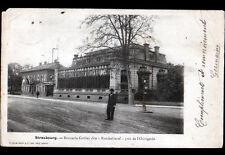STRASBOURG (67) BRASSERIE GRUBER BAECKEHIESEL animée avant 1904