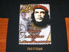 CHE GUEVARA Zacatecas South America Guerrilla Argentine Marxist T Shirt Mens L