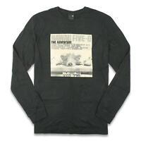 Nixon Mens Layover T-Shirt Black M New